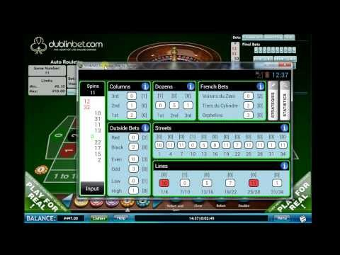 Video of Smart Roulette Tracker