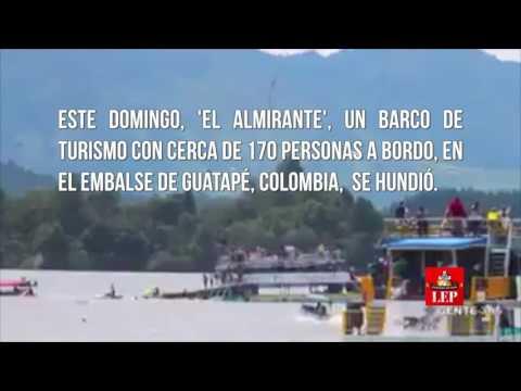 Naufragio deja seis muertos y al menos 16 desaparecidos en Colombia