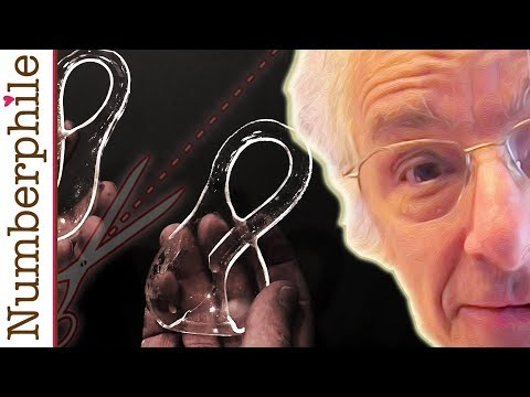 Cutting a Klein Bottle in Half - Numberphile