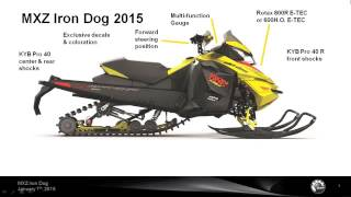 3. 2015 Ski-Doo MXZ Iron Dog 600, 800