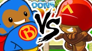 120 ROUND CHALLENGE! INSANE BEST GAME EVER - BLOONS TOWER DEFENSE