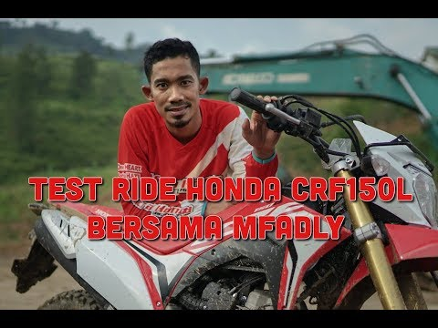 Test Ride CRF150L Bersama Madly
