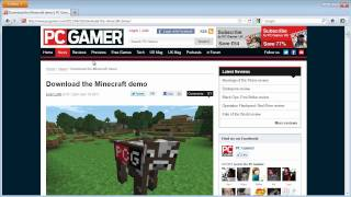 Minecraft: Free Demo Quick Start Guide (Windows PC Download Only)