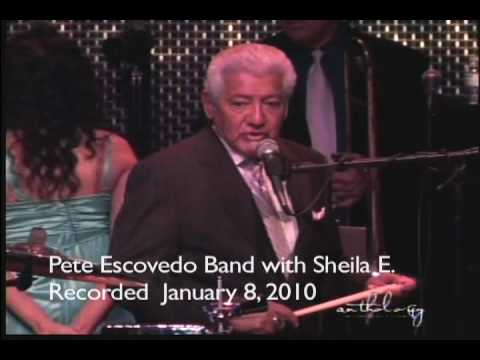 Pete Escovedo Orchestra recorded live at Anthology San Diego.