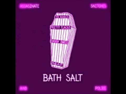 ASAP Rocky & ASAP Ant Feat Flatbush Zombies - Bath Salt (W/Lyrics) (видео)