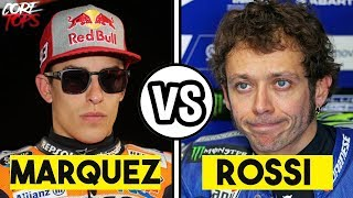 Video MARC MARQUEZ VS VALENTINO ROSSI | ¡BASTA YA! MP3, 3GP, MP4, WEBM, AVI, FLV Juli 2018