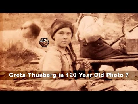 Greta Thunberg een time traveler?