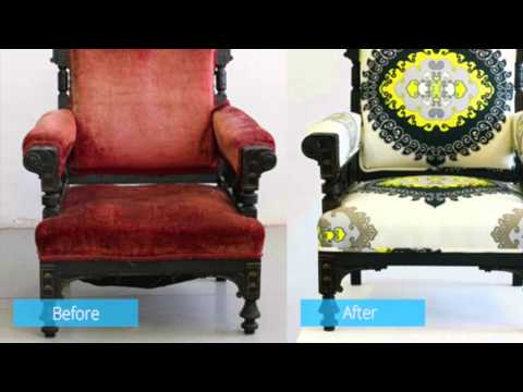 Makeover of Wooden Chairs (Before & After)
