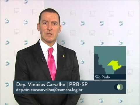 Entrevista deputado Vinicius Carvalho para TV Câmara