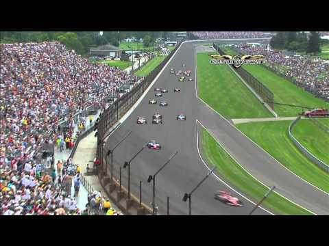 2011 Indy 500 Highlights