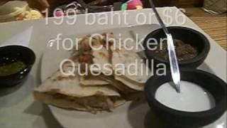 Bangkok Mexican Dining - Asoke Sunrise Tacos