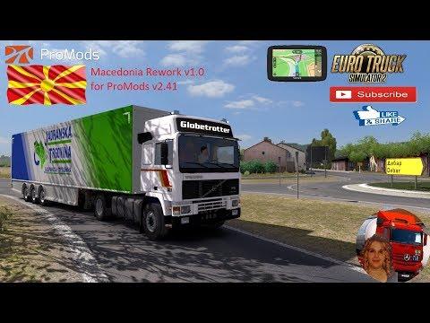 Macedonia Rework v1.0 for ProMods v2.41