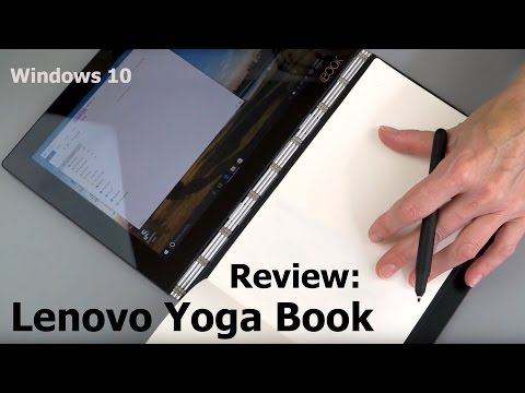 Lenovo Yoga Book Review (Windows 10 Version)