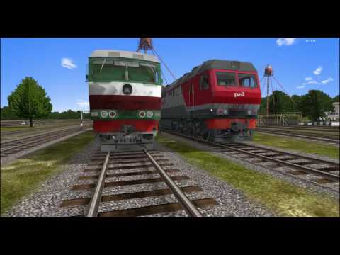 [RTrainSim] Мультиплеер на ТЭП70 (Симулятор железной дороги)