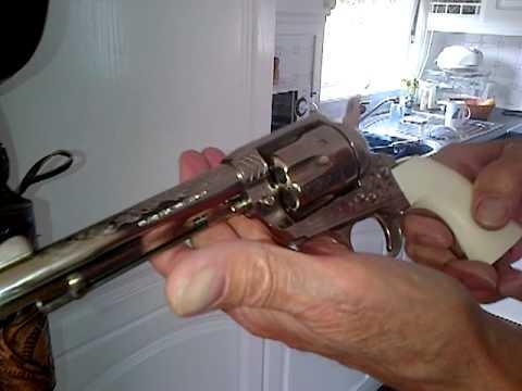 Colt 45 1871 replica single action revolver ltd edidion (видео)