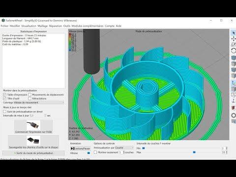 Impression 3D  : Paramètres de Simplify3D