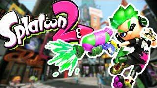 Turf War Multiplayer! - Splatoon 2 Gameplay Part 1 (Kid Friendly Gaming FUN!)