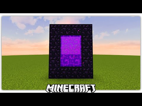 make a nether portal