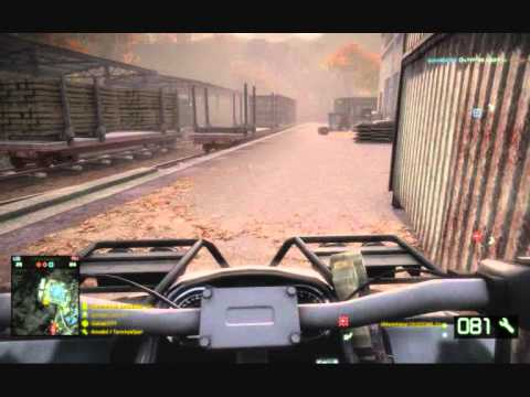 Battlefield Bad Company 2 Tank vs. ATV