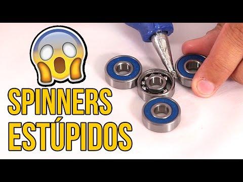 cómo hacer 4 spinners... ¡muy estÚpidos!
