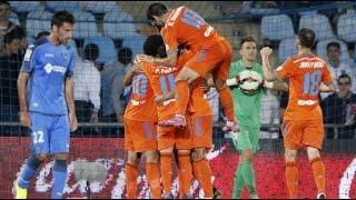Getafe 0 - 3 Valencia - Liga de España - Comentarios y análisis