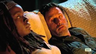 Rick & Michonne finally together (6x10) The Walking Dead season 6 episode 10