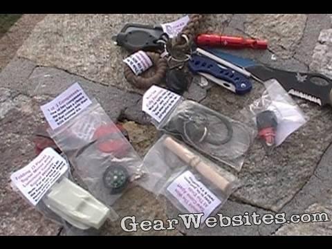 Ranger Rick's SOS Keychain Mini-Survival kit