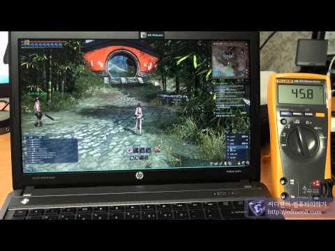 HP Probook 4441s blade soul Frame Test