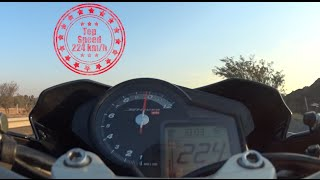 3. Aprilia Shiver - Top Speed 224 km/h