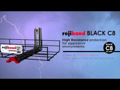 Pemsa Rejiband BLACK C8