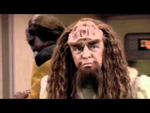 "Star Trek Rightful Heir ""He is a clone"""