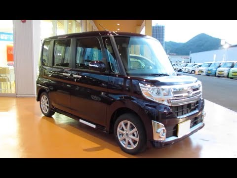 2013 New DAIHATSU TanTo CUSTOM?Smart Assist? – Exterior & Interior