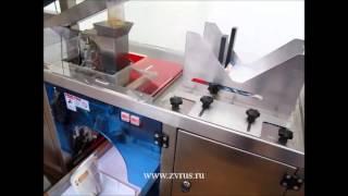 Автоматическая линия серии MINI для фасовки в готовые пакеты дой-пак