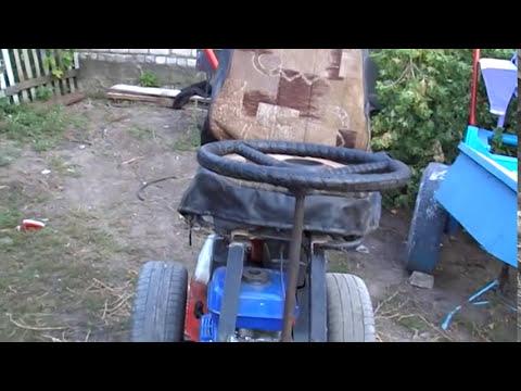 Как сделать адаптер с рулем на мотоблок