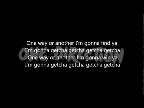 One Direction - One Way Or Another (Teenage Kicks) [Lyrics]
