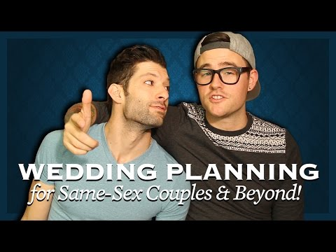 youtubers will and rj samesex couple�s guide to wedding