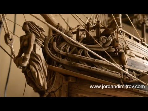Old Wooden Sailing Ships Artwork Process