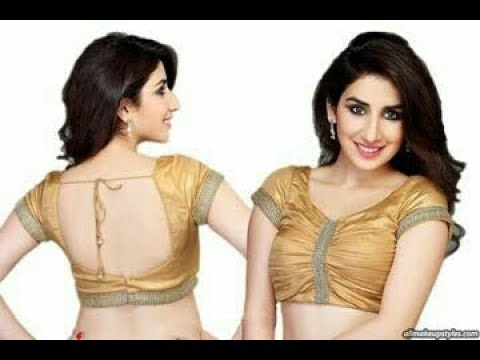 Saree Blouse Designs for 2017 - Part 2