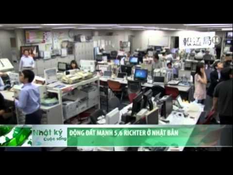 Động đất mạnh 5,6 độ Richter ở Nhật Bản