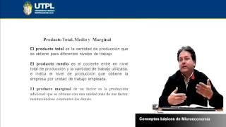 UTPL CONCEPTOS BÁSICOS DE MICROECONOMÍA [(ÁREA ADMINISTRATIVA)(MICROECONOMÍA)]