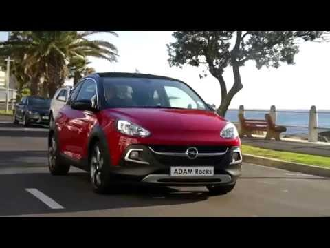 Opel Adam touched by (funny) Angel