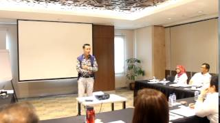 N HOUSE TRAINING FOR ONWJ 9-10 APRIL 2015 WITH ERWIN PARENGKUAN & BECKY TUMEWU