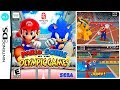 Mario Sonic At The Olympic Games nintendo Ds