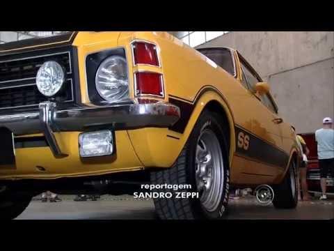 VIII - Encontro Nacional de Opalas de Jundiai 2014 - Reportagem TV Globo Interior