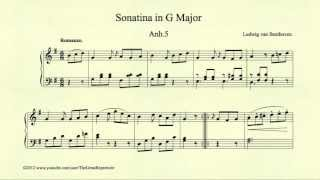 Beethoven, Sonatina in G major, Anh 5, Romanze