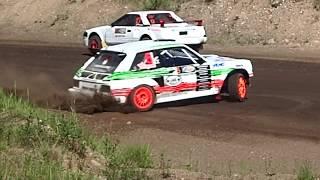 Some action from SM Rallicross Honkajoki!