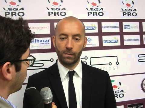 Arezzo-Maceratese 1-0, intervista a Bucchi