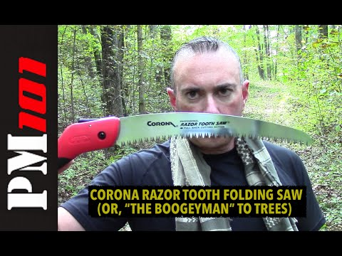 Video Corona Razor Tooth Folding Saw: $18 Worth Of Awesome  - Preparedmind101 download in MP3, 3GP, MP4, WEBM, AVI, FLV January 2017