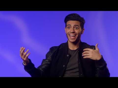 "Aladdin: Mena Massoud ""Aladdin"" Behind the Scenes Movie Interview"