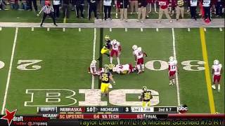 Michael Schofield vs Nebraska (2013)